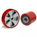 - Ролики и рулевые колеса для гидравлических тележек