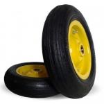 - Пневматические и литые колеса для тачек